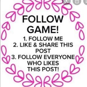 Accessories - 🙋🏽♀️ 1st FOLLOW GAME 🙋🏽♀️